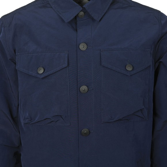 Barbour Beacon Mens Blue Askern Overshirt main image