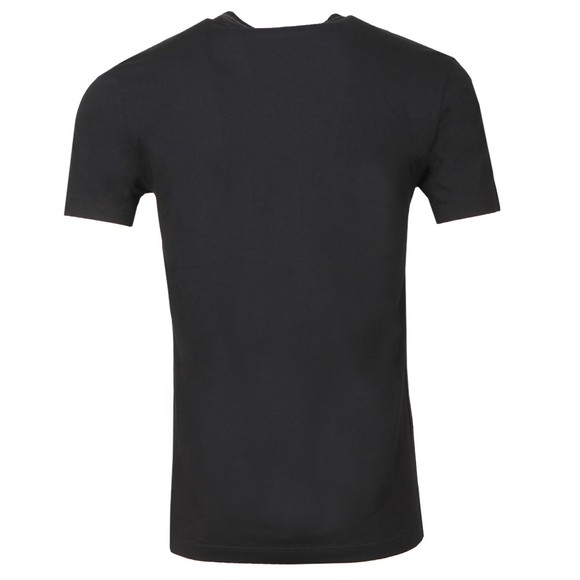 PS Paul Smith Mens Black Plain Jersey T Shirt