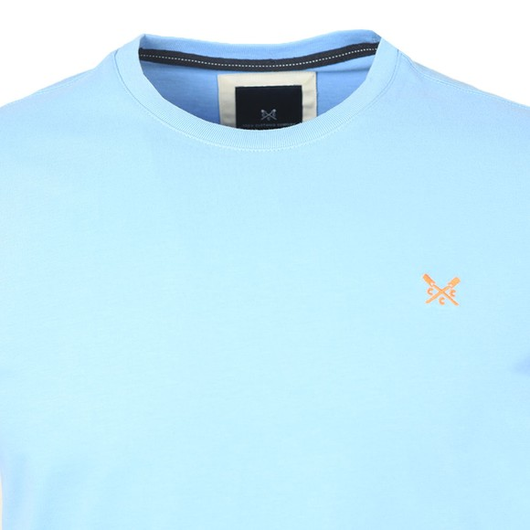 Crew Clothing Company Mens Blue Classic T-Shirt main image