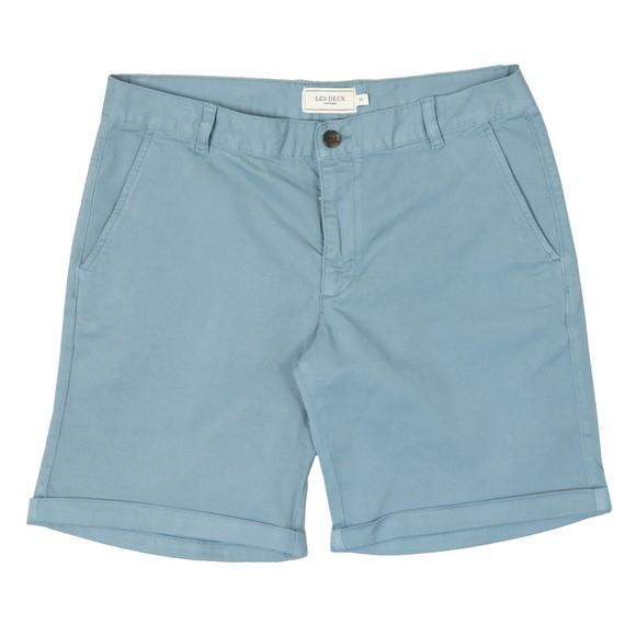 Les Deux Mens Blue Pascal Chino Short