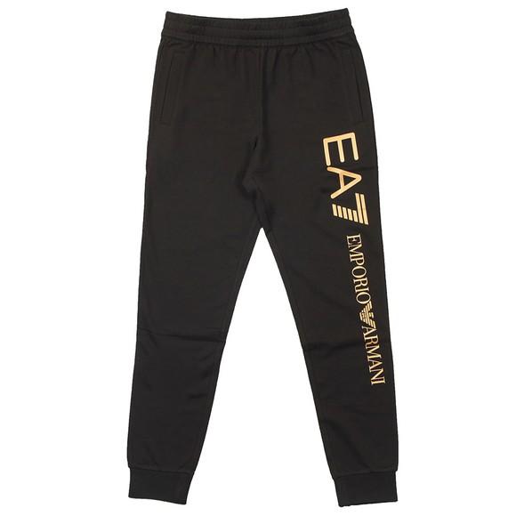 EA7 Emporio Armani Mens Black Branded Jogger
