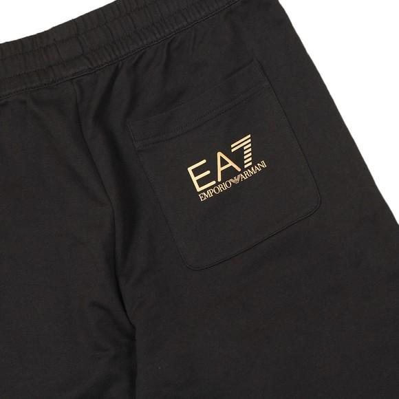 EA7 Emporio Armani Mens Black Branded Jogger main image
