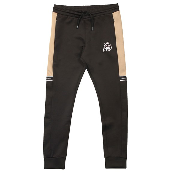 Kings Will Dream Mens Black Vesy Marl Poly Jogger