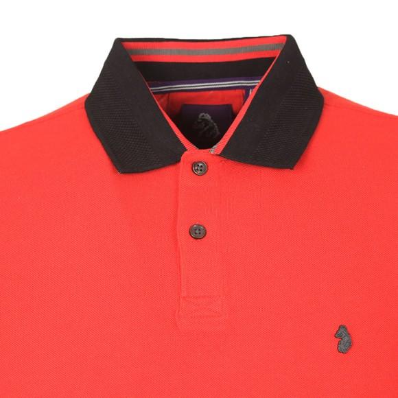 Luke Sport Mens Red Bonham Polo Shirt