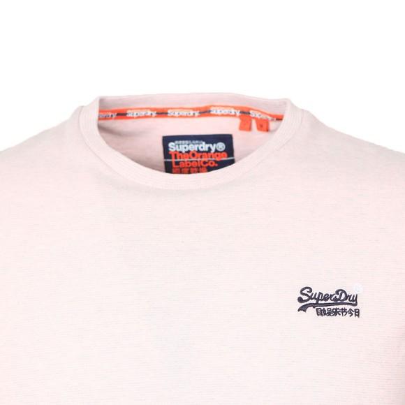 Superdry Mens Pink Vintage Emb T-Shirt main image