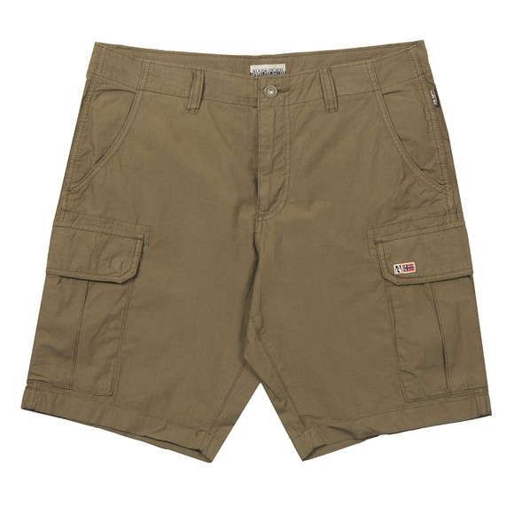 Napapijri Mens Green Noto Cargo Short