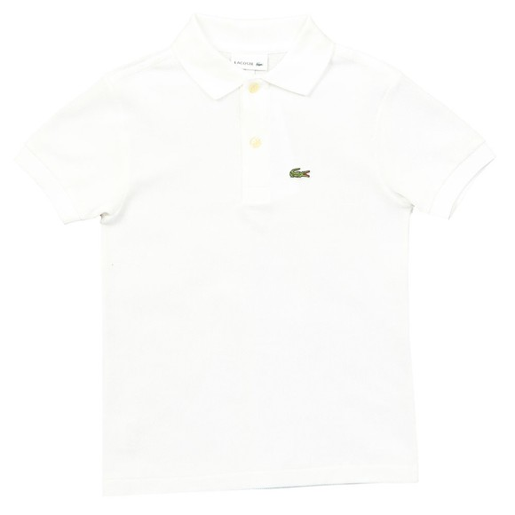 Lacoste Boys White PJ2909 Polo Shirt