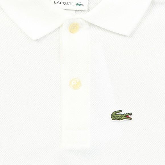 Lacoste Boys White PJ2909 Polo Shirt main image
