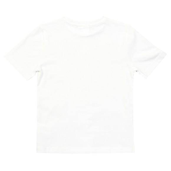 BOSS Boys White J25E64 Logo T Shirt main image