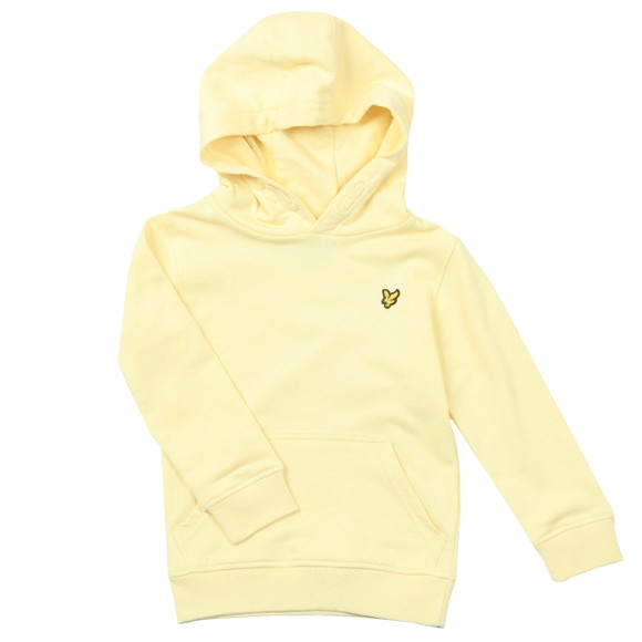 Lyle And Scott Junior Boys Yellow Classic Overhead Hoody main image