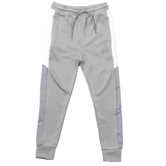 Kings Will Dream Boys Grey Yeddon Nylon Panel Jogger