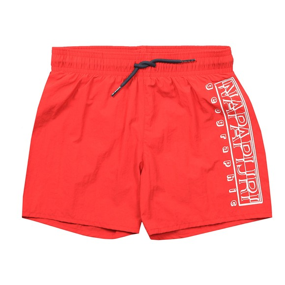 Napapijri Boys Red Kids Voli Swim Short