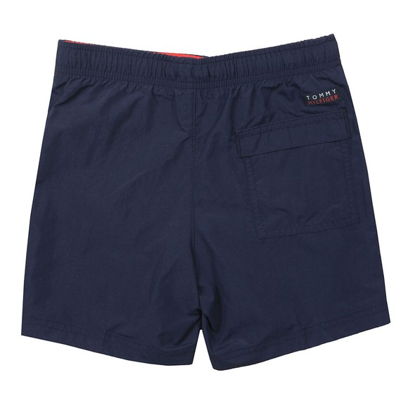 Tommy Hilfiger Kids Boys Blue Block Flag Swim Short