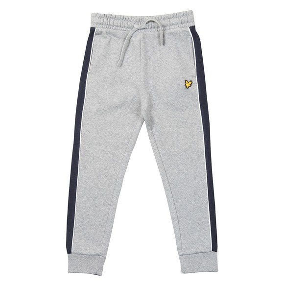 Lyle And Scott Junior Boys Grey Side Panel LB Jogger