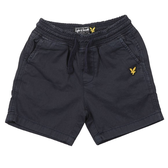 Lyle And Scott Junior Boys Blue Elasticated Waistband Short