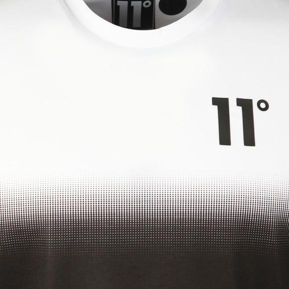 Eleven Degrees Mens Black Dot Fade T-Shirt main image