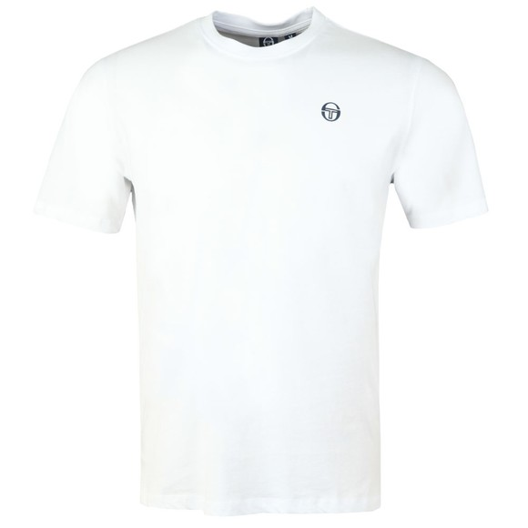 Sergio Tacchini Mens White Run T-Shirt