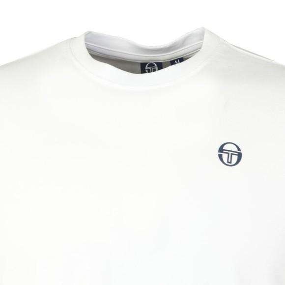 Sergio Tacchini Mens White Run T-Shirt main image