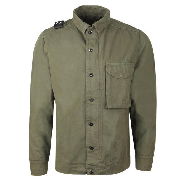 Ma.Strum Mens Beige GD Overshirt