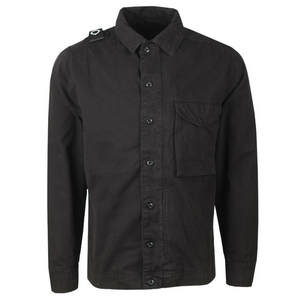 Ma.Strum Mens Black GD Overshirt