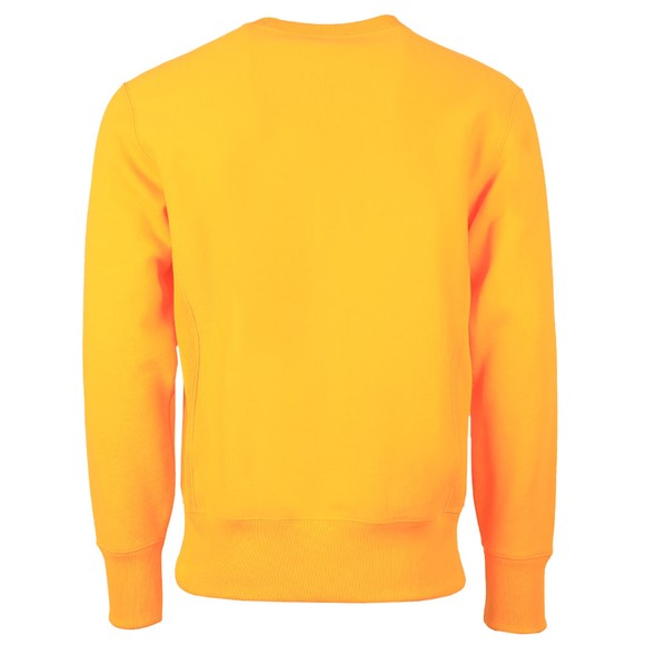Champion Reverse Weave Mens Orange Reverse Weave Sweatshirt main image