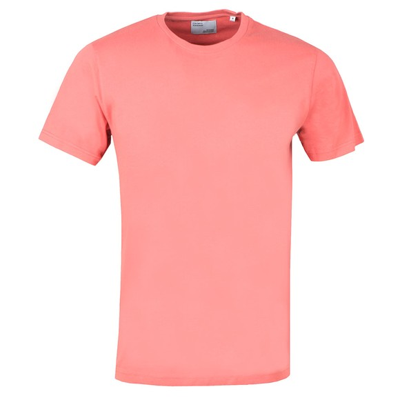 Colorful Standard Mens Pink Organic T-Shirt