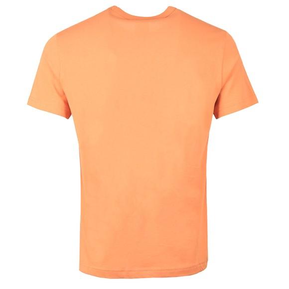 Champion Reverse Weave Mens Orange Crew Neck T-Shirt main image