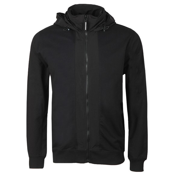 Weekend Offender Mens Black Bracco Hoody