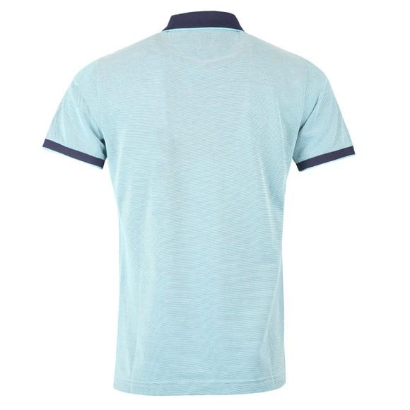 Gant Mens Blue Oxford Rugger Polo Shirt main image