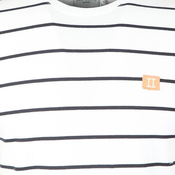 Les Deux Mens Multicoloured Piece Stripe T-Shirt main image