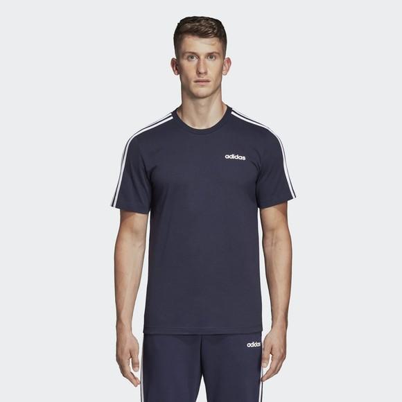 adidas Mens Blue Essentials T-Shirt