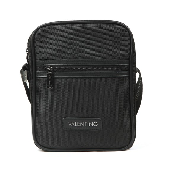 Valentino by Mario Mens Black Anakin Large Messenger Bag