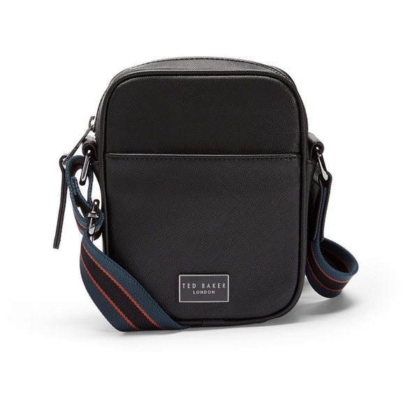 Ted Baker Mens Black Mini Flight Bag