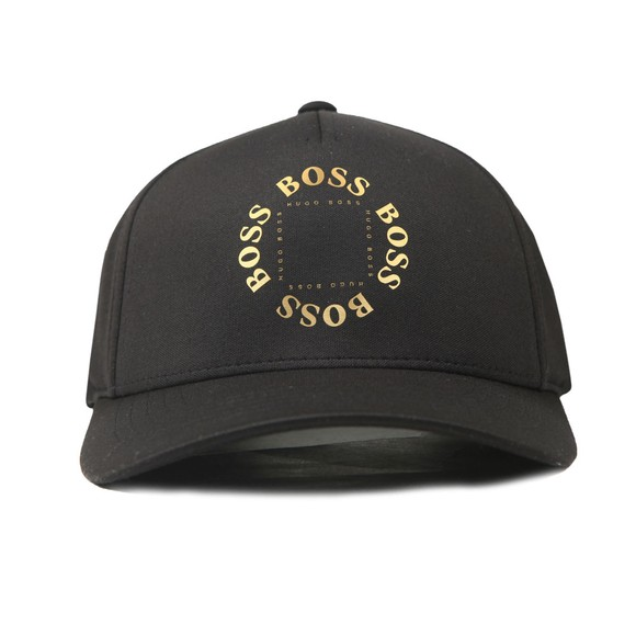 BOSS Mens Black Circle Cap