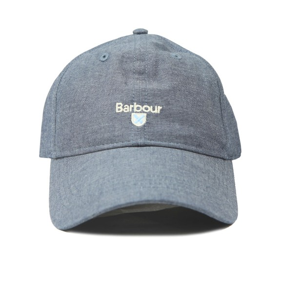 Barbour Lifestyle Mens Blue Ellerton Sports Cap