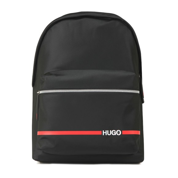 HUGO Mens Black Record Backpack