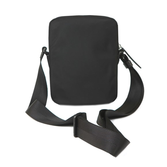 HUGO Mens Black Record Zip Messenger Bag