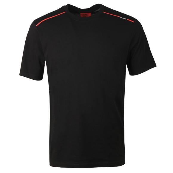 HUGO Mens Black Dyrtid T-Shirt
