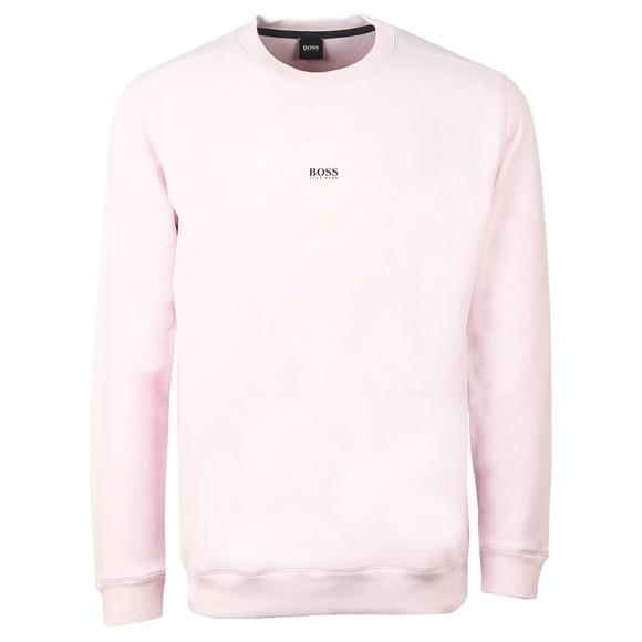 BOSS Mens Purple Casual Weevo Sweatshirt