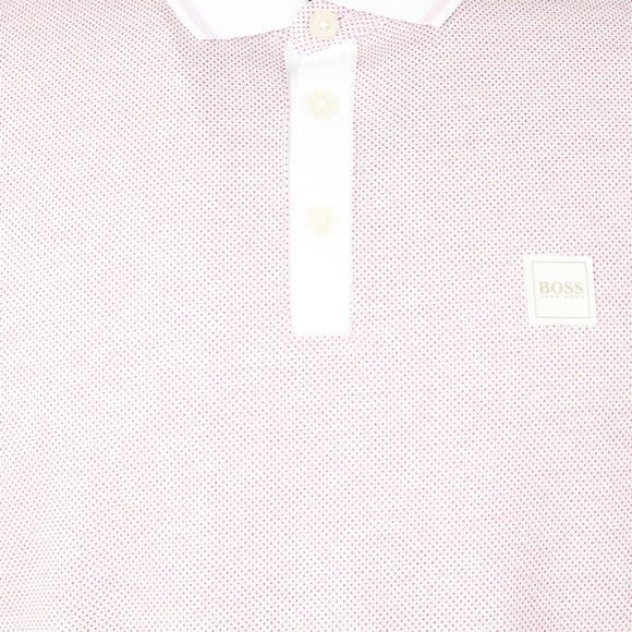 BOSS Mens Purple Casual Partey Polo Shirt