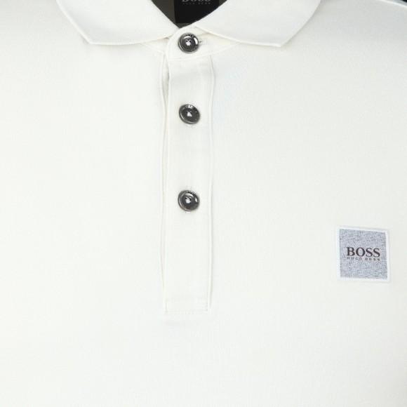BOSS Mens Beige Casual Passenger Polo Shirt