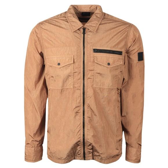 BOSS Mens Brown Casual Lovel Overshirt