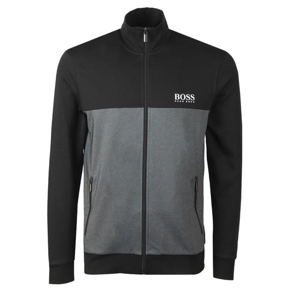 BOSS Bodywear Mens Black Small Logo Tracksuit Jacket
