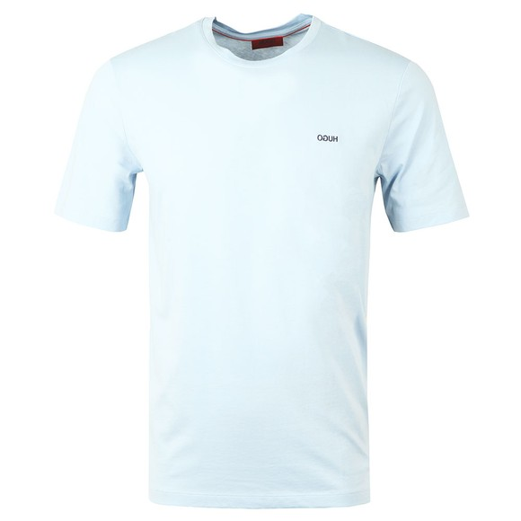 HUGO Mens Blue Dero203 T-Shirt