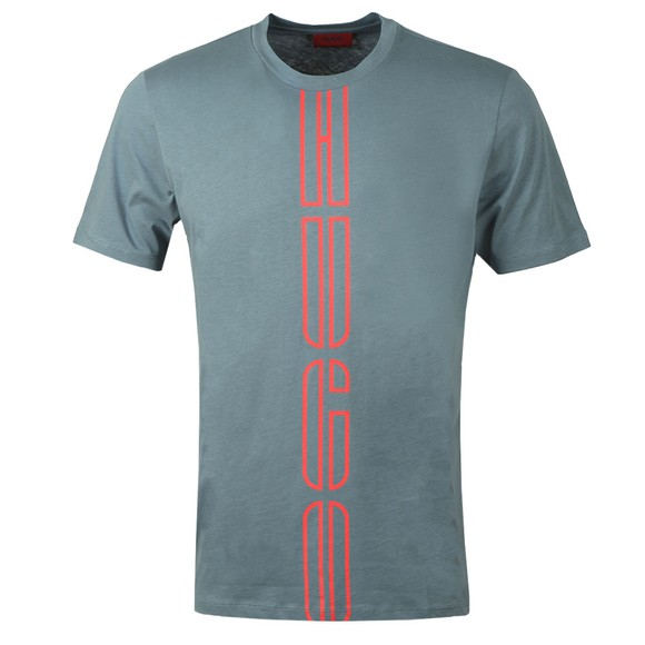 HUGO Mens Grey Darlon203 T-Shirt