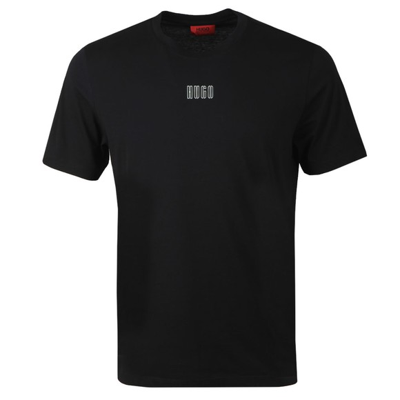 HUGO Mens Black Durned 203 T-Shirt