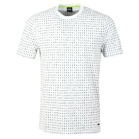 BOSS Mens White Casual Tepol T Shirt