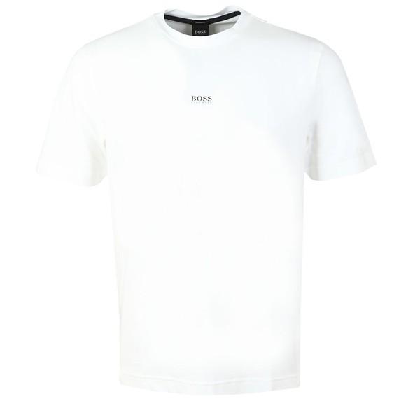 BOSS Mens White Casual TChup T-Shirt