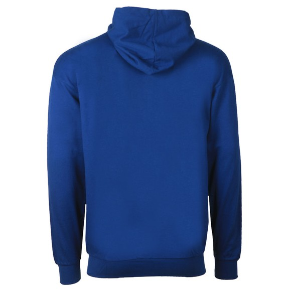 BOSS Bodywear Mens Blue Authentic Block Stripe Hoody main image