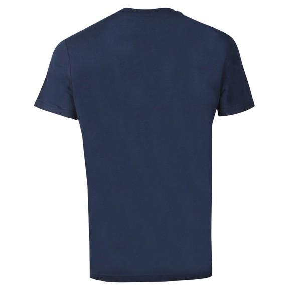 BOSS Bodywear Mens Blue Regular Fit Large Logo T Shirt main image